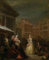 The Four Times of Day: Morning by William Hogarth