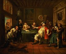 Falstaff Examining his Recruits from Henry IV by Shakespeare by William Hogarth