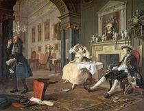 Marriage a la Mode: II - The Tete a Tete by William Hogarth