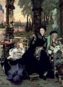 The Widow von James Jacques Joseph Tissot
