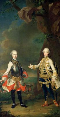 Joseph and Leopold von Martin II Mytens or Meytens