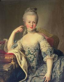 Archduchess Marie Antoinette Habsburg-Lotharingen  von Martin II Mytens or Meytens