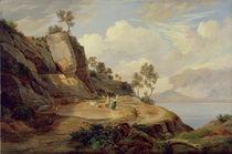 Landscape in Italy  by Carl Wilhelm Goetzloff