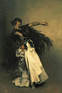 'The Spanish Dancer' von John Singer Sargent