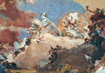 Apollo in his Sun Chariot driving Beatrice I  by Giovanni Battista Tiepolo
