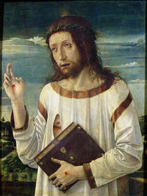 Christ Blessing  von Giovanni Bellini