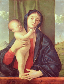 Virgin and Child von Giovanni Bellini