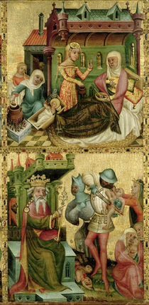 Nativity of the Virgin and the Massacre of the Innocents by Master Bertram of Minden