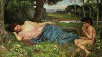 Listen to my Sweet Pipings by John William Waterhouse