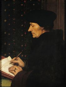 Portrait of Desiderius Erasmus  von Hans Holbein the Younger