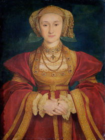 Portrait of Anne of Cleves  von Hans Holbein the Younger