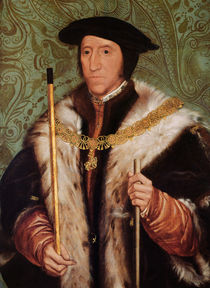 Portrait of Thomas Howard by Hans Holbein the Younger