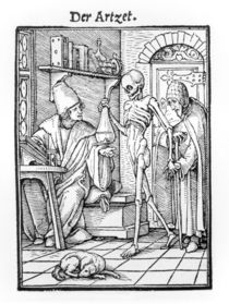 Death and the Physician von Hans Holbein the Younger