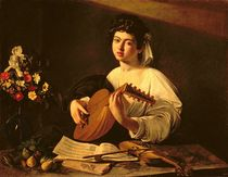 The Lute Player von Michelangelo Merisi da Caravaggio