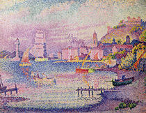 Leaving the Port of Saint-Tropez by Paul Signac