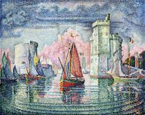 The Port at La Rochelle by Paul Signac