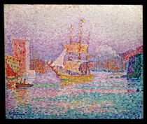Harbour at Marseilles by Paul Signac