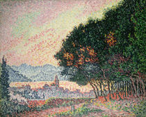 Forest near St. Tropez von Paul Signac