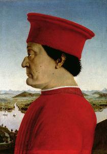 Federigo da Montefeltro  by Piero della Francesca