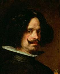 Self Portrait  by Diego Rodriguez de Silva y Velazquez