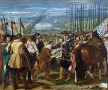 The Surrender of Breda by Diego Rodriguez de Silva y Velazquez