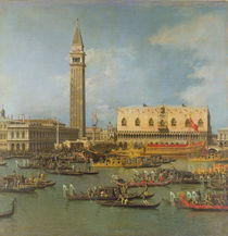 View of the Palace of St Mark by Canaletto