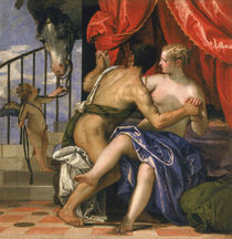 Mars and Venus  by Veronese