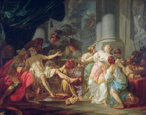 The Death of Seneca by Jacques Louis David