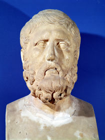 Bust of Zeno of Citium  by Greek