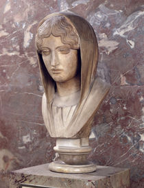 Head of a woman known as Aspasia of Miletos  by Greek