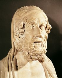 Bust of Homer by Greek