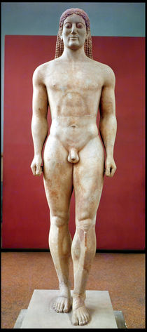 Anavysos Kouros by Greek