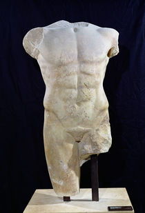 Male torso from Miletus by Greek