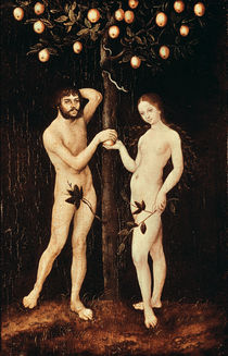 Adam and Eve  by the Elder Lucas Cranach