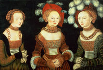 Three princesses of Saxony by the Elder Lucas Cranach