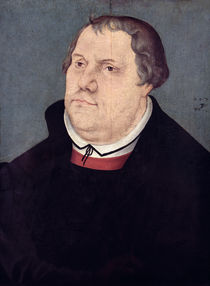 Martin Luther  by the Elder Lucas Cranach