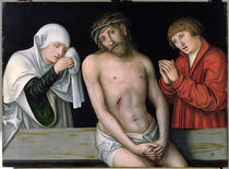 Christ as the Man of Sorrows with the Virgin and St. John  by the Elder Lucas Cranach