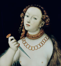 The Suicide of Lucretia by the Elder Lucas Cranach
