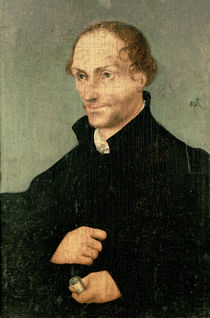 Portrait of Philipp Melanchthon  von the Elder Lucas Cranach