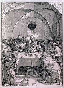 The Last Supper from the 'Great Passion' series von Albrecht Dürer
