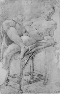 Model of Evening  by Michelangelo Buonarroti
