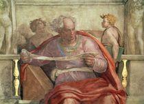 The Prophet Joel by Michelangelo Buonarroti