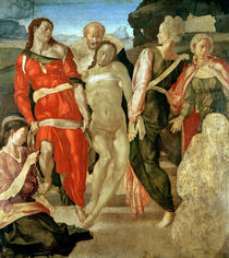 The Entombment  by Michelangelo Buonarroti