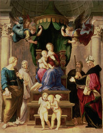 Madonna of the Baldacchino  by Raphael