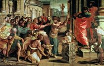 The Sacrifice at Lystra  by Raphael
