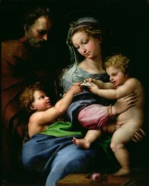 The Virgin of the Rose by Raphael