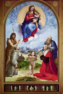 The Foligno Madonna by Raphael