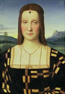 Portrait of Elizabeth Gonzaga by Raphael
