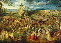The Road to Calvary by Pieter the Elder Bruegel