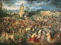 Christ carrying the Cross by Pieter the Elder Bruegel